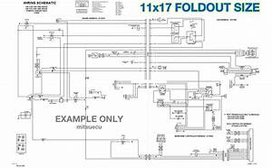 Bobcat 442 Excavator Hydraulic  U0026 Electrical Schematics 11x17 Foldouts Diagrams
