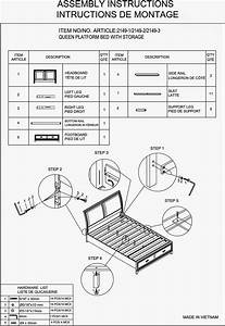 Wesley Allen Bed Assembly Instructions Images