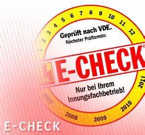 E Check Prüfung : e check e check siegers haustechnik m nchengladbach nrw deutschland ~ Frokenaadalensverden.com Haus und Dekorationen