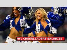 NFL Cheerleader Salaries Hourly Wage In 2015