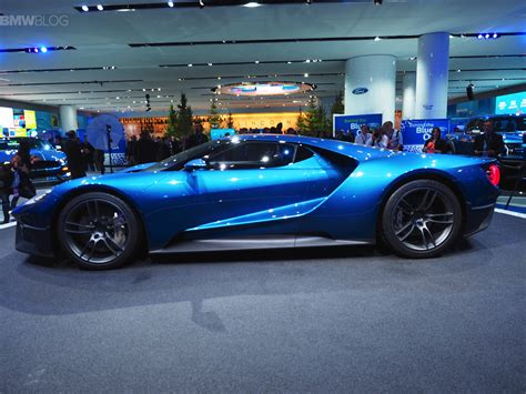 2015 Ford Gt by Ford Gt Comes To 2015 Detroit With 600 Horsepower