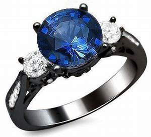 17 best images about engagement rings on pinterest round for Sapphire wedding rings meaning