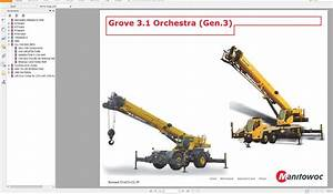 Manitowoc Grove Service Training Full Set Manual Dvd