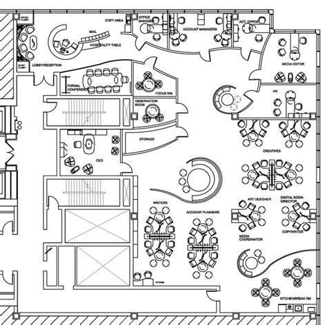 open space floor plans sle design plan layouts office
