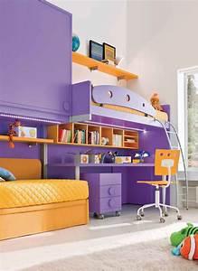 Image De Chambre : lit mezzanine secret de chambre ~ Farleysfitness.com Idées de Décoration