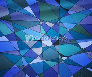 Blue Stained Glass Texture