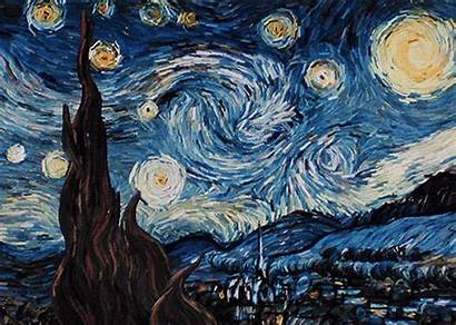 Night Starry Painting Painter