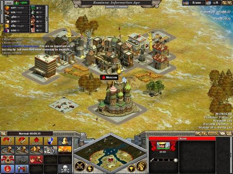russia vs america rise of nations mods