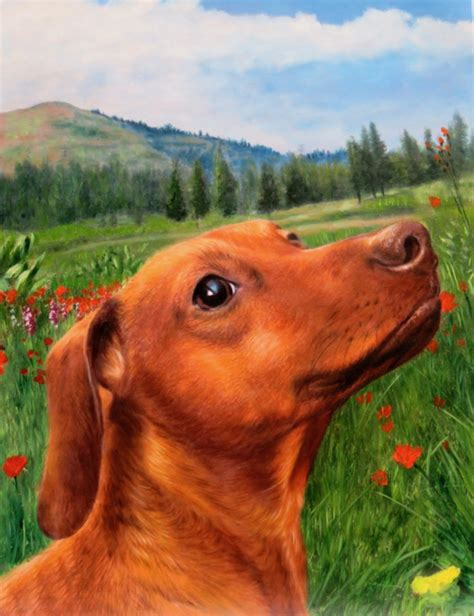 dog paintings  youve   splendid beast