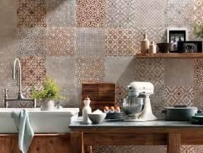 Floor Tiles Kitchen Design Image