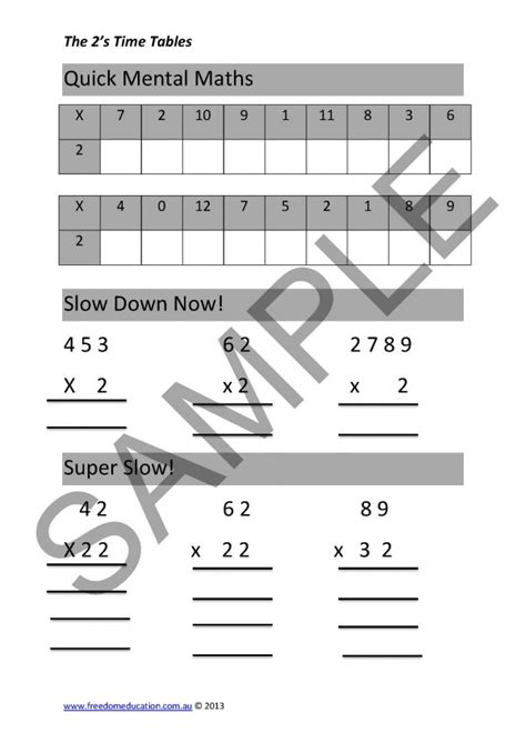 applying 2s times tables worksheets page 11 600x848