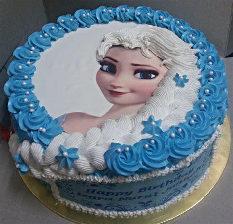 frozen hair braid birthday cake album  muffin kaseh azean