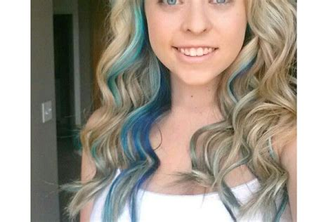 Blond Hair Blue by 30 Pretty Blue Hairstyles For Pretty Designs