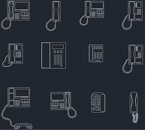 Phones Cad Blocks
