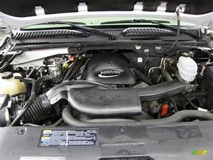 2004 Chevrolet Tahoe Z71 4x4 Engine Photos