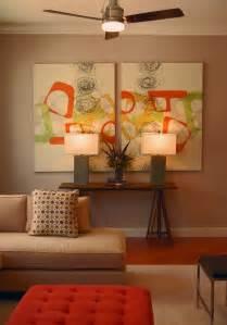 Creative canvas wall art ideas for living room
