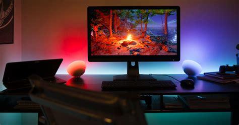hue philips lights sync go computer lightstrip gaming screen app music shot games