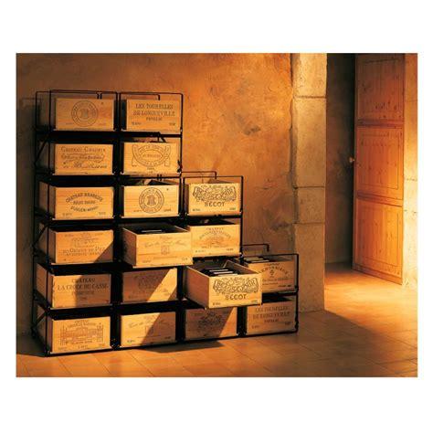 rangement pour bouteille de vin modulorack syst 232 me de rangement pour stocker les caisses de vin eurocave