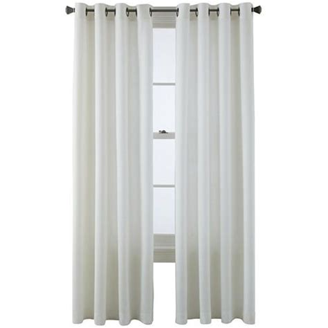 jcpenney grommet kitchen curtains buy studio arista grommet top curtain panel today at