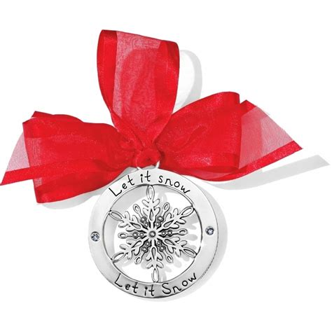 brighton alcazar flake ornament snowflake kisses snowflake ornament ornaments