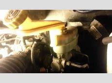 1997 Dodge Caravan Brake Master Cylinder Replace YouTube