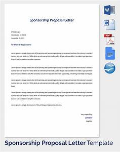 sample sponsorship proposal template 19 documents in With sports team sponsorship proposal template