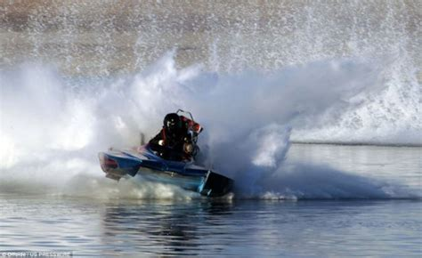 Drag Boat Fails by Drag Boat Racer Projected At 150 Mph From His Seat 4 Pics