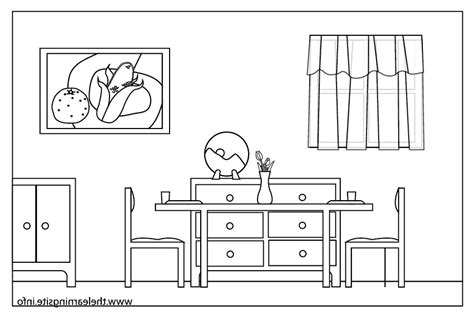 dining room clipart black and white room clipart 69