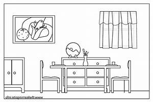 Room clipart black and white - Pencil and in color room ...