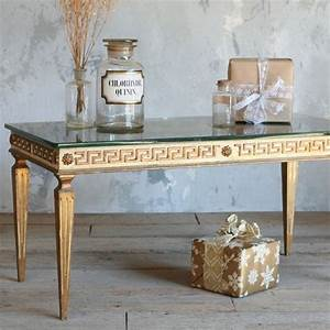 the one of a kind vintage coffee table greek key With one of a kind coffee tables
