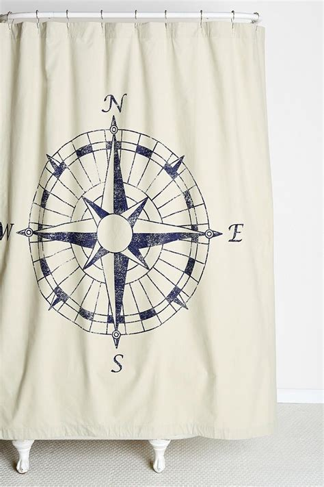 shower curtain nautical 4040 locust navigation shower curtain well this goes with