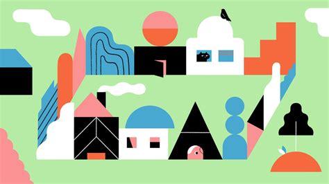 draw buildings  illustrator adobe illustrator