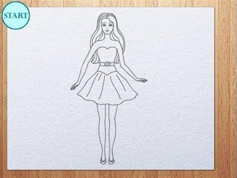 draw barbie kids art hub pinterest draw