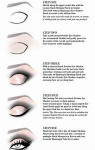 Step By Step Cut Crease Eyeshadow Application