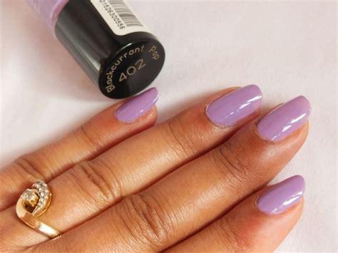 maybelline color show nail paint blackcurrant pop review