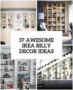 37 awesome ikea billy bookcases ideas for your home digsdigs for Awesome photo wall ideas for your house