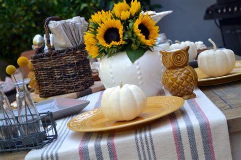 fall harvest table decorations fall harvest table decor spotlight little miss momma