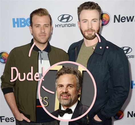 Scott Evans & Mark Ruffalo React To Chris Evans ...