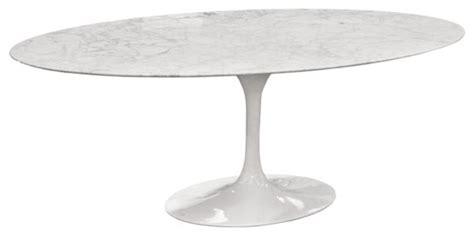 rove concepts tulip table eero saarinen oval tulip table cararra marble by rove