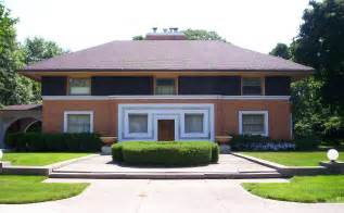 frank lloyd wright prairie style house plans file william h winslow house front facade jpg