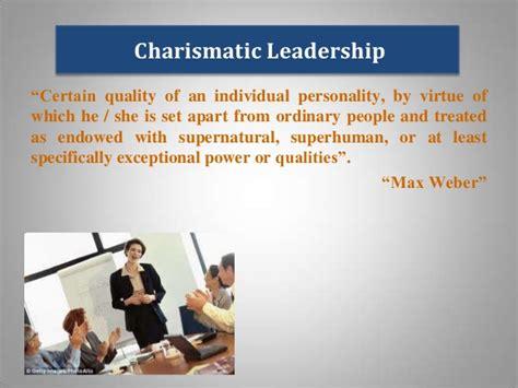 charismatic leadership  people management iibm