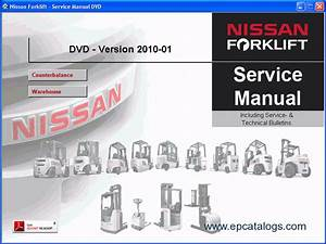 Nissan Forklift 2010 Service Manuals Download