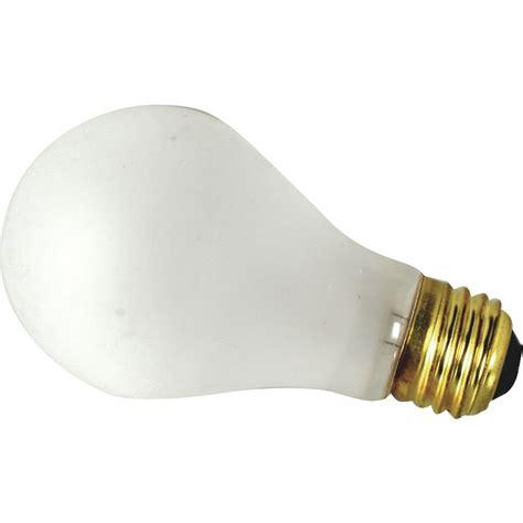 fmp frosted glass 100 watt shatterproof incandescent light