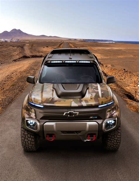 Chevrolet Colorado The Fuel Cell Army Truck Our