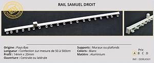 Rail A Rideau : catalogue tringles rails et barres pour rideaux et voilages ~ Louise-bijoux.com Idées de Décoration
