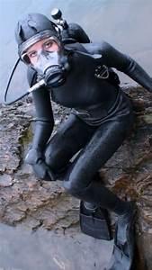 Frogwoman【Heavy Rubber&Latex】 | Scuba | Pinterest