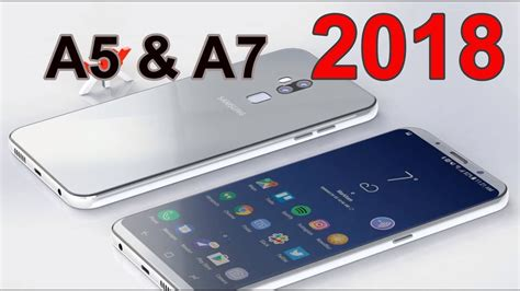 samsung galaxy a5 a7 2018 new design with infinity display leaked specs 6gb ram