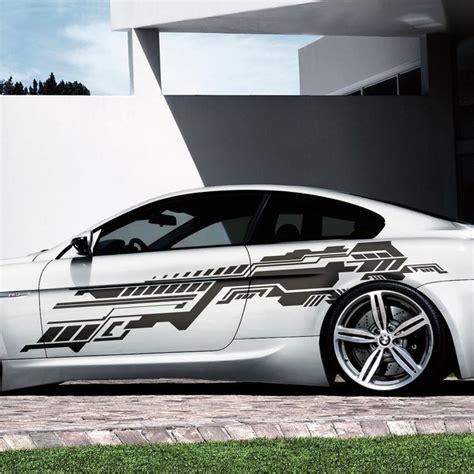 auto tuning teile 2x future design grafik seitenaufkleber 230cm auto aufkleber tuning folie s39 in auto motorrad