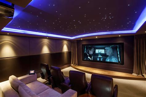 Home Theatre : Inspirational Modern Home Movie Theater Design Ideas