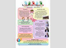 Past Newsletters Ladybirds Daycare Barnstaple Devon
